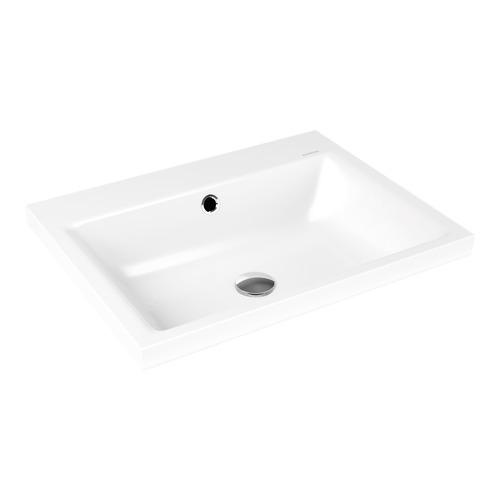 kaldewei puro stahl aufsatz waschtisch 3154 60 x 46 x 4 cm perleffekt mit hl design in bad. Black Bedroom Furniture Sets. Home Design Ideas