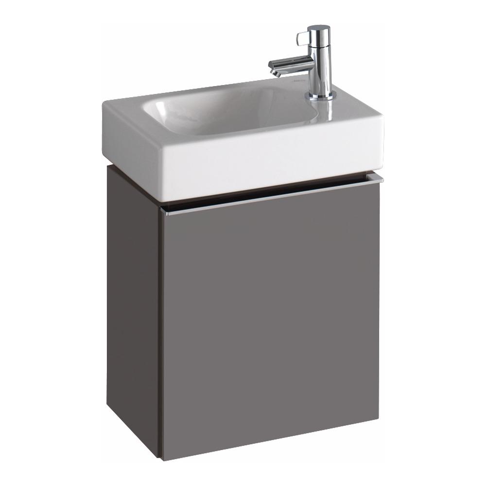 keramag icon xs handwaschbecken mit hahnloch rechts 380x280 mm design in bad. Black Bedroom Furniture Sets. Home Design Ideas
