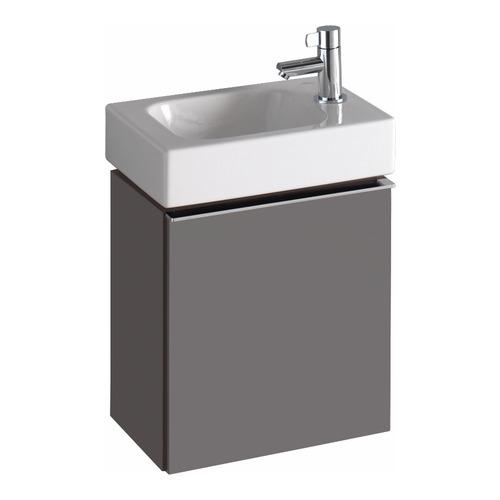 iCon xs Handwaschbecken mit Hahnloch rechts 380x280 mm