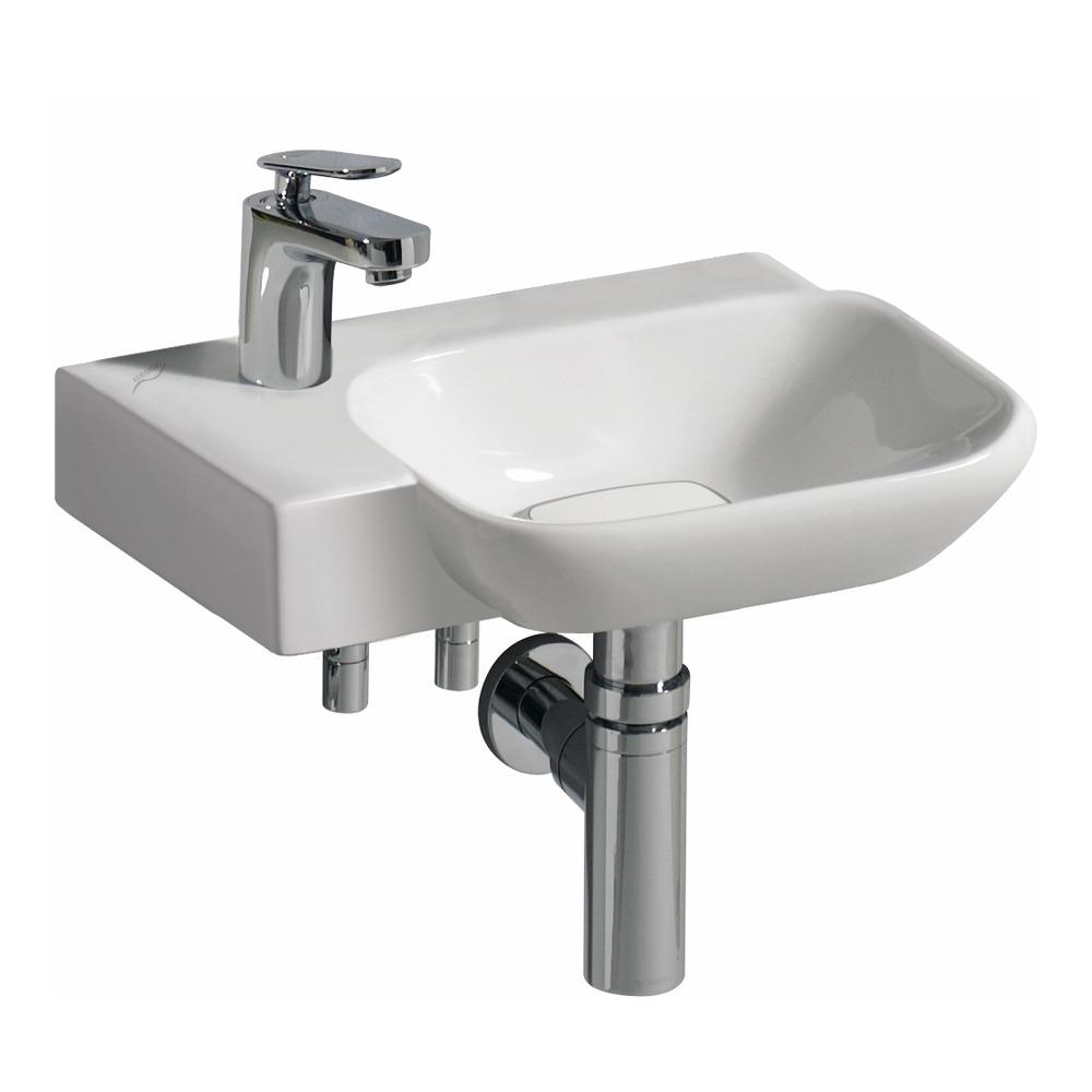 keramag handwaschbecken myday 40x28 cm hl links 125440 design in bad. Black Bedroom Furniture Sets. Home Design Ideas
