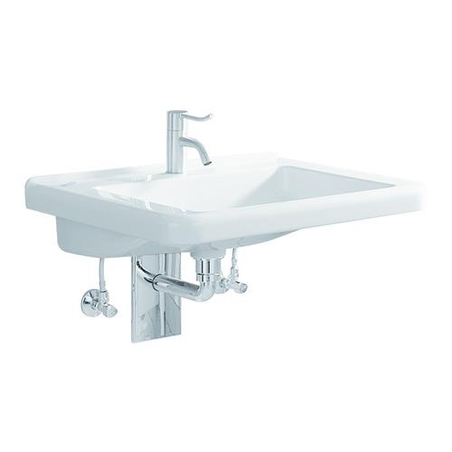 Renova Nr. 1 Comfort Waschtisch 55 x 53 unterfahrbar mit Hahnloch ohne Überlauf