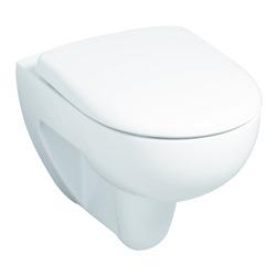 Renova Nr. 1 Tiefspül-WC spülrandlos, wandhängend 35,5 x 54 cm weiß