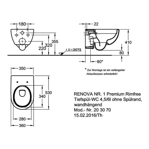 Kg Tiefspül Wc Renova Nr1 Premium Design In Bad