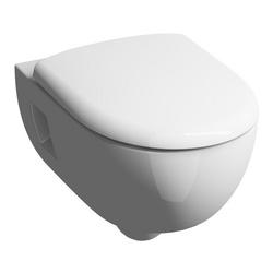 Renova Nr.1 Premium Tiefspül-WC, spülrandlos, wandhängend 36 x 33 x 53 cm