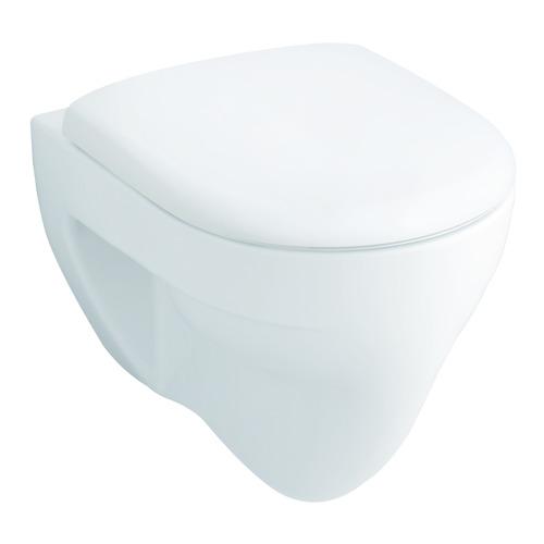 Renova Nr. 1 Flachspül-WC wandhängend 35,5 x 54 cm weiß