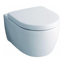 iCon Tiefspül-Wand-WC spülrandlos, Set mit WC-Sitz Softclose