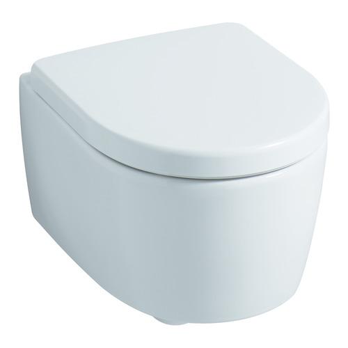 Tiefspül-Wand-WC iCon xs 49 cm 6l 204070, spülrandlos