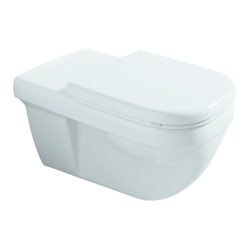 Renova Nr. 1 Comfort Flachspül-WC wandhängend, 6 l