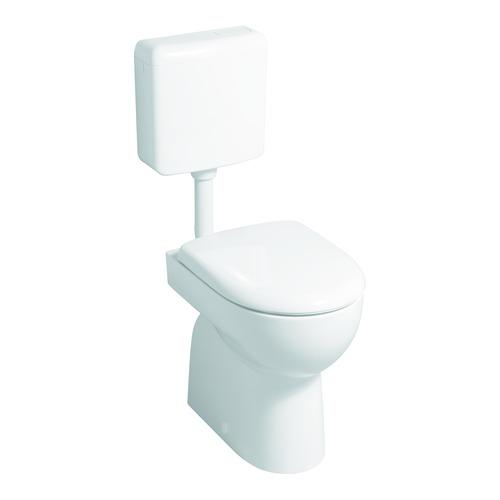 Renova Nr. 1 Tiefspül-WC bodenstehend, Abgang senkrecht 35,5 x 41 cm weiß
