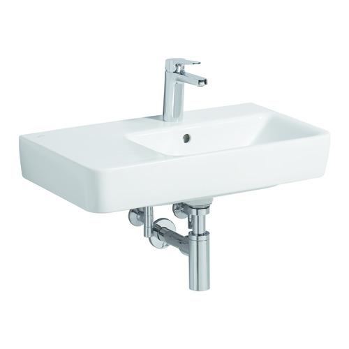 Renova Comprimo Neu Waschtisch 65x37cm Abl. links 226265