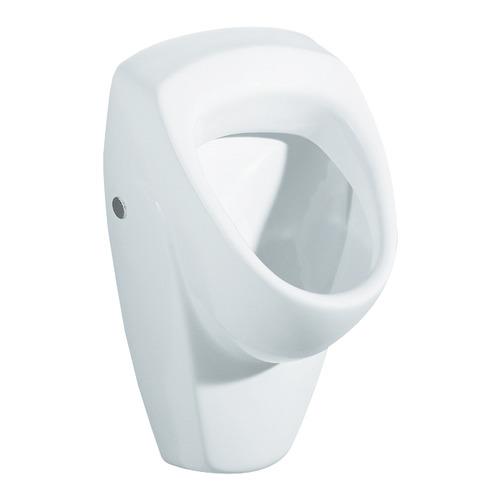 """Renova Nr. 1 Urinal, Zulauf/Abgang von hinten/nach hinten mit """"Kerze"""" 36 x 61 cm"""