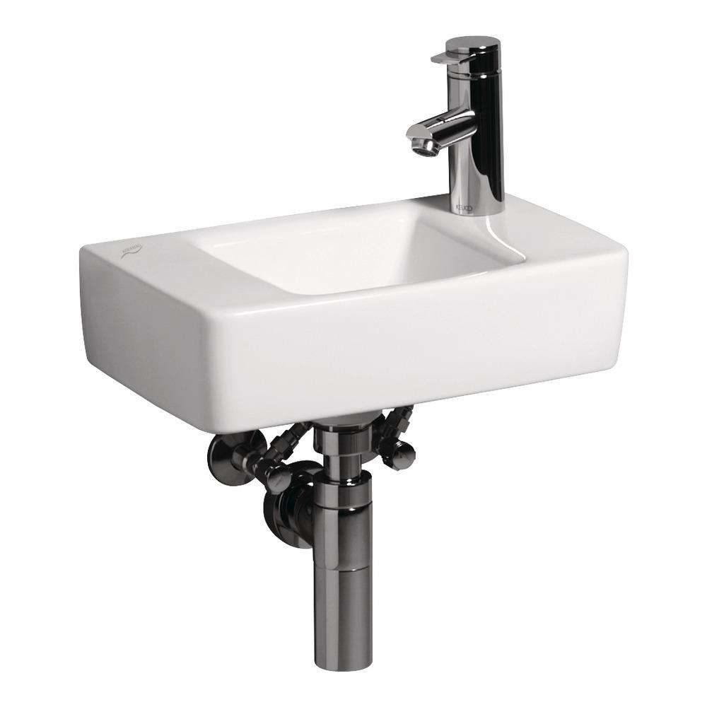 keramag renova nr 1 plan handwaschbecken 40 x 25 cm hl rechts 272142 design in bad. Black Bedroom Furniture Sets. Home Design Ideas