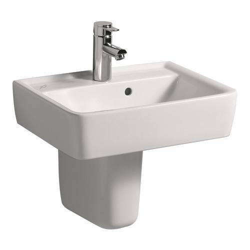 keramag renova nr 1 plan handwaschbecken 50x38cm 272150 design in bad. Black Bedroom Furniture Sets. Home Design Ideas