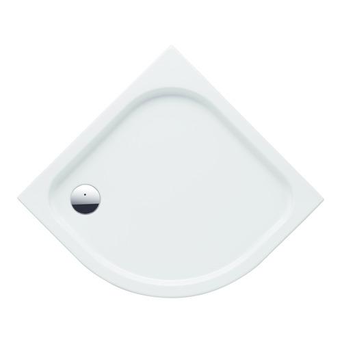 RENOVA Nr. 1 Eck-Duschwanne 652210 90x90x6 cm