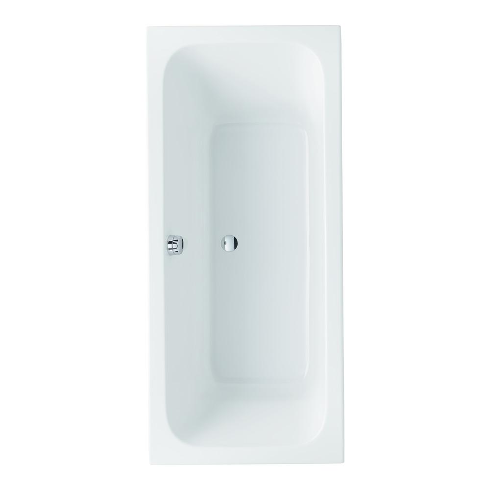 Keramag RENOVA Nr. 1 Rechteck-Badewanne 180x80x45 cm 657380 - Design in Bad