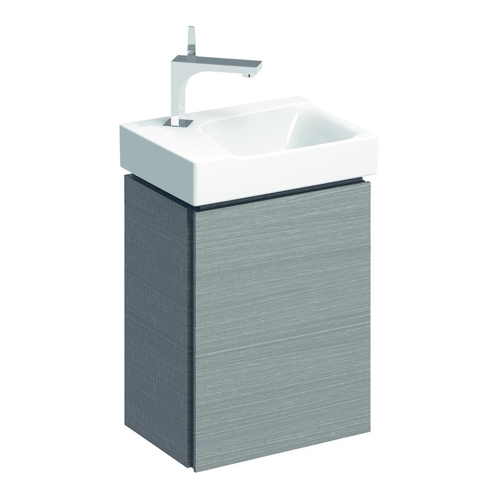 keramag xeno2 handwaschbecken unterschrank 380x525 scultura design in bad. Black Bedroom Furniture Sets. Home Design Ideas