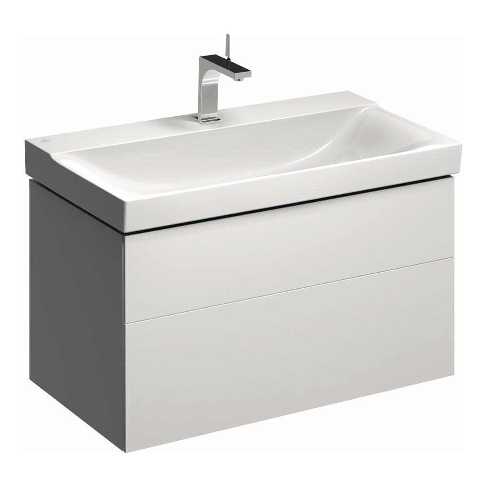 keramag waschtischunterschrank xeno2 880x530 wei lack. Black Bedroom Furniture Sets. Home Design Ideas