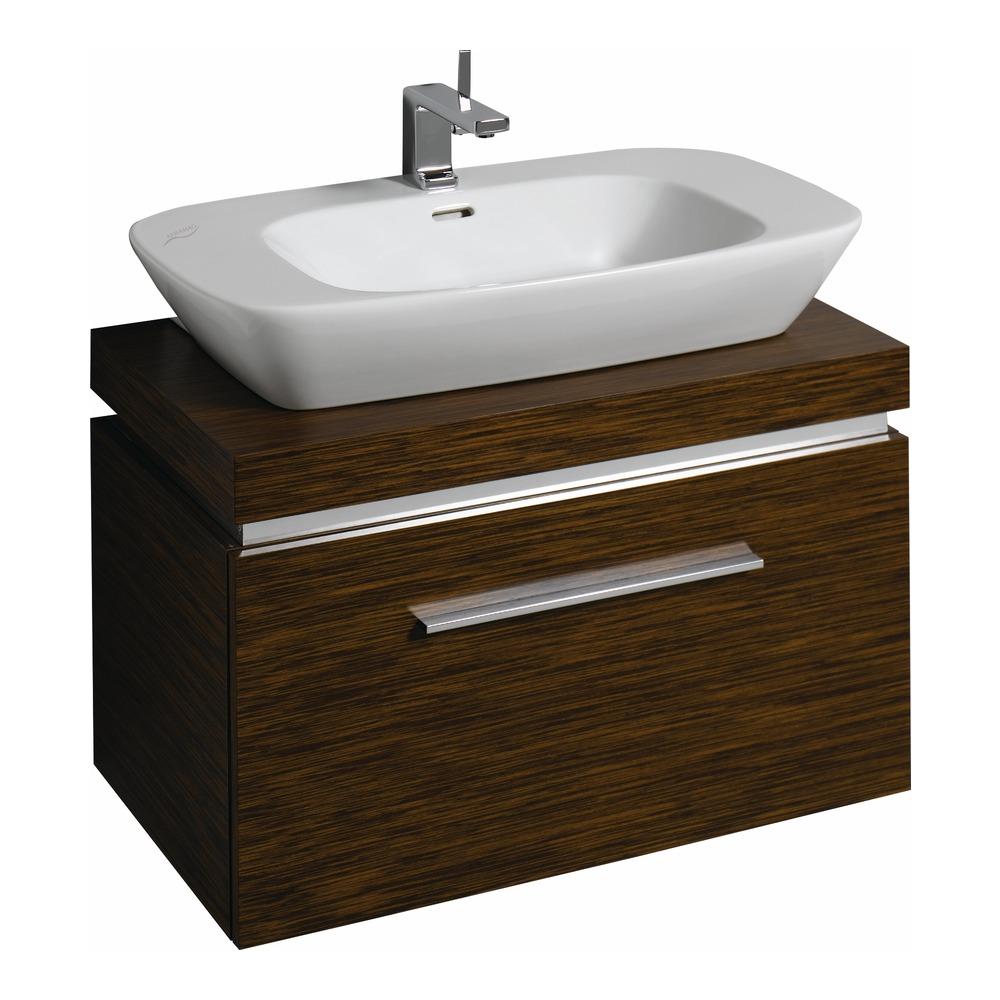 keramag silk waschtisch unterschrank 80x40x47 wenge 816081. Black Bedroom Furniture Sets. Home Design Ideas