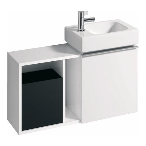 iCon xs HWB-Unterschrank 37x42x28 cm Weiß-Alpin