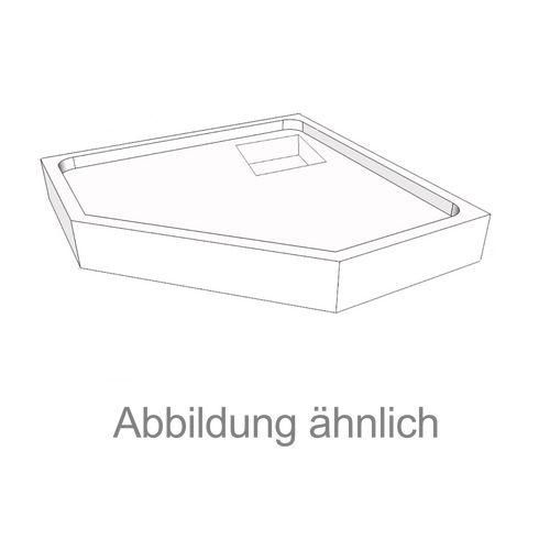 Duschwannenträger Cornezza 100x100x2,5 cm Fünfeck SM500
