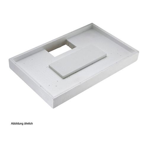 Duschwannenträger Villeroy & Boch Architectura MetalRim 120 x 90 x 1,7 cm  Ablauf mittig lange Seite