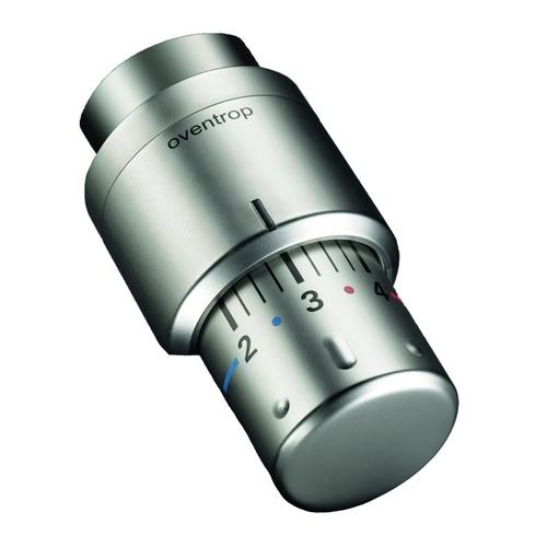 """Oventrop Thermostat """"Uni SH"""" in Edelstahl-Design 0"""