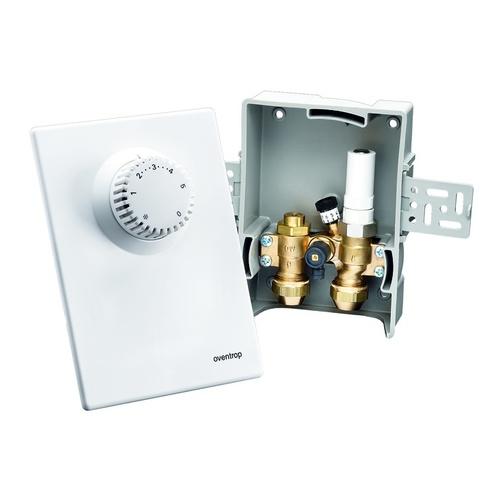 Unibox E BV Einzelraumregelung mit Thermostatventil, mit Bypass, 57 mm, weiß