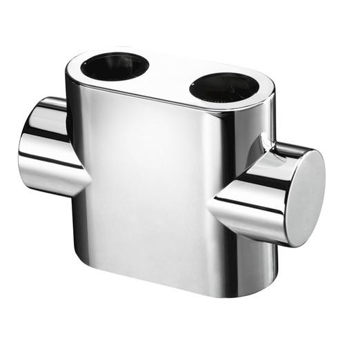 """Design Abdeckung für """"Multiblock T"""" Durchgangsform 12,5 x 8,8 x 2,3 cm"""