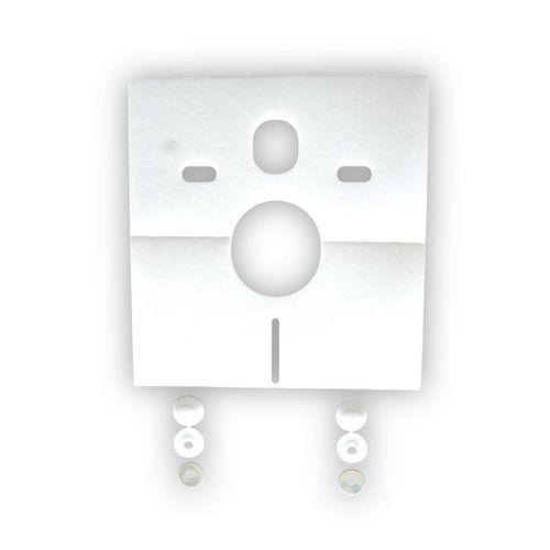 Sanit Schallschutzset für Wand-WC und Bidet 0