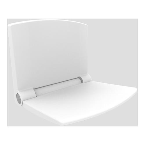 Duschsitz lifestyle Thermoplast weiß 54.002.01..0000