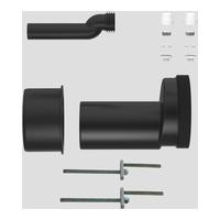 SANIT WC-Etagen-Anschlussgarnitur DN100, etagiert um 25 mm, Pfuscherset