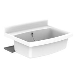 Maxi Becken mit Überlauf, 70 x 50 cm, 33 l