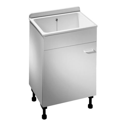 washbox / Waschbox mit Unterschrank und Ablage, 43 l