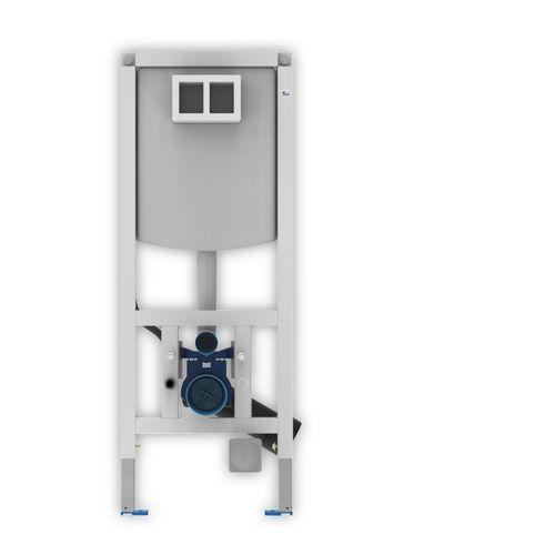 WC-Element für Trockenbau 45 cm 112 cm mit Unterputzspülkasten u Freshbox
