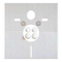 Schallschutzset für Wand-WC oder -Bidet