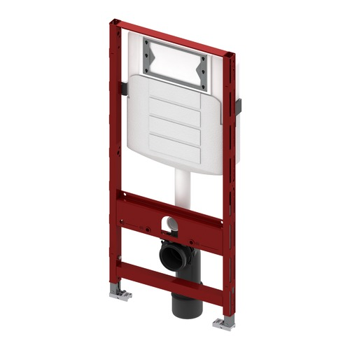 WC-Modul TECEprofi mit Geberit-Spülkasten 1120 mm