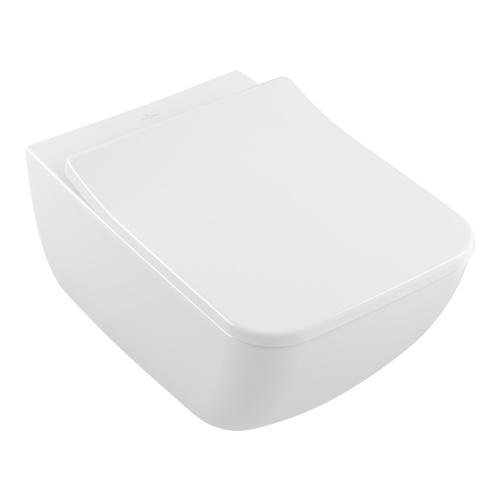 Venticello Tiefspül-WC mit DirectFlush (ohne Spülrand) 56 × 37,5 cm