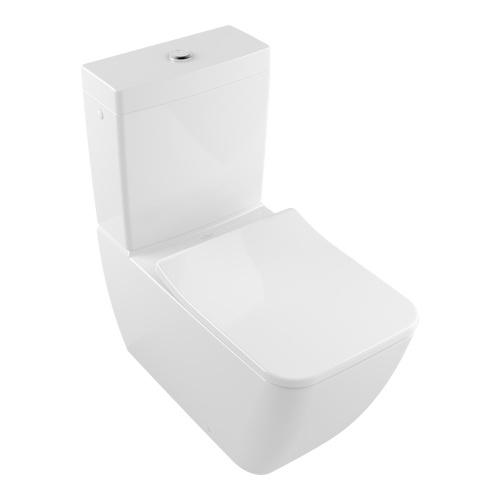 Venticello Tiefspül-WC bodenstehend spülrandlos für Kombination