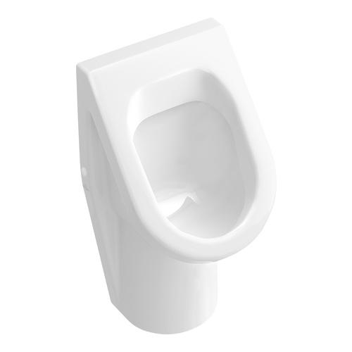 Architectura Absaug-Urinal, Zulauf verdeckt, mit Zielobjekt 35,5 x 62 x 38,5 cm
