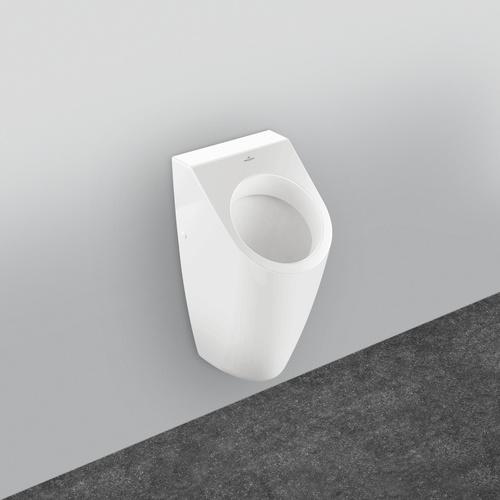 Architectura Absaug-Urinal, Zu- und Ablauf verdeckt 32,5 x 68 x 35,5 cm
