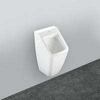 Architectura Absaug-Urinal eckig, Zu-u. Ablauf verdeckt 32,5 x 68 x 35,5 cm