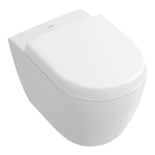 Subway 2.0 Tiefspül-WC 48 cm Ausladung , spülrandlos Compact