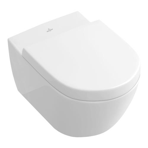 Villeroy & Boch Subway 2.0 Tiefspül-WC mit DirectFlush (ohne Spülrand) und CeramicPlus 0