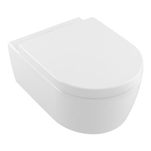 Avento Combi-Pack Tiefspülklosett 37 x 53 cm spülrandlos inkl. WC-Sitz SoftClosing