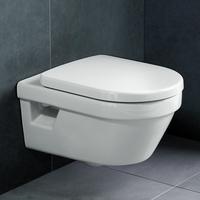 Architectura spülrandloses Tiefspül-WC und WC-Sitz mit Soft Closing