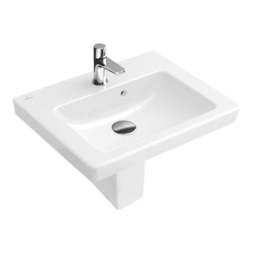 SUBWAY 2.0 Handwaschbecken 50x40 cm m.HL m.ÜL 731550