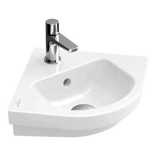 SUBWAY 2.0 Eck-Handwaschbecken 32 cm m.HL, m.ÜL 731945