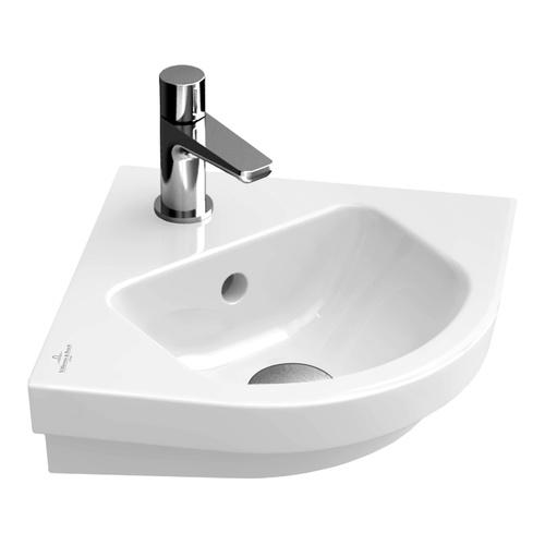 SUBWAY 2.0 Eck-Handwaschbecken 32 cm m.HL, o.ÜL 731946
