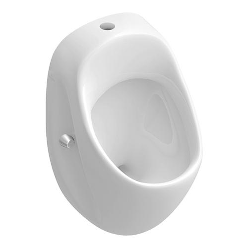 O.novo Absaug-Urinal 29 x 52 x 32 ohne Deckel, Zulauf oben