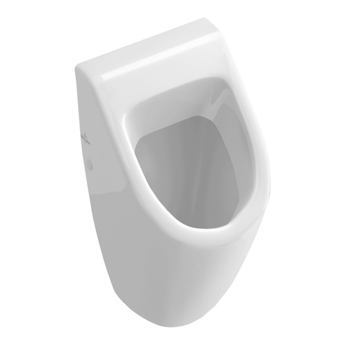 V&BSUBWAY Absaug-Urinal 28,5x53,5x31,5 cm o.Deckel m.Zielob. 751
